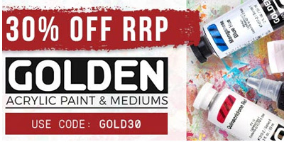 30% OFF Golden Acrylics