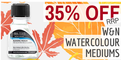 35% OFF Winsor & Newton Watercolour Mediums