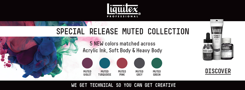 Liquitex Muted Collection
