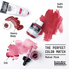 Liquitex MUTED PINK