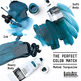 Liquitex MUTED TURQUOISE