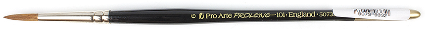 Pro Arte Prolene Series 101 Round Synthetic Watercolour Brush