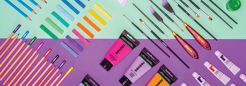 Reeves Art Materials Product Range