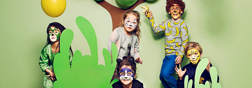 Snazaroo Face Paint Jungle Characters