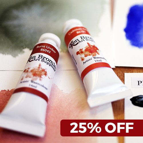 25% OFF Ken Bromley Watercolours Catalogue 55