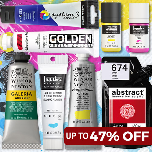 Up to 47% OFF Acrylic Paint
