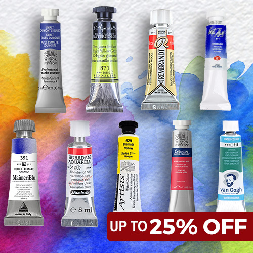 up to 25% OFF Watercolour Paint