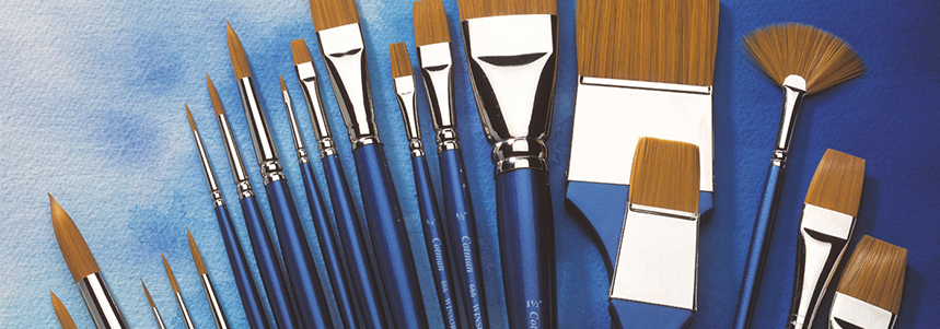 Introducing the Cotman Watercolour brush range