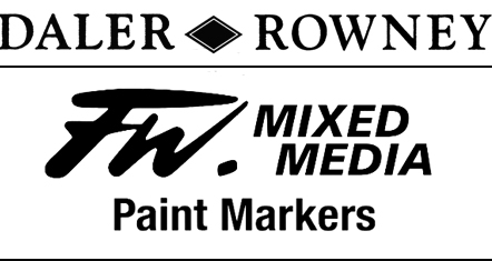 Daler Rowney FW Mixed Media Paint Markers