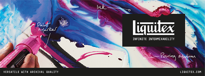 Liquitex Professional Acrylics - Infinite Intermixability. Mix and match between Soft Body, Heavy Body, Ink, Paint Markers and Acrylic Mediums