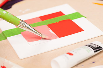 Liquitex Cadmium Free Acrylic Colour Performance test