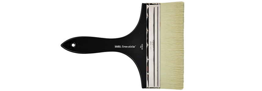 Liquitex Freestyle Large Scale Broad Flat Short Handle Acrylic Brush