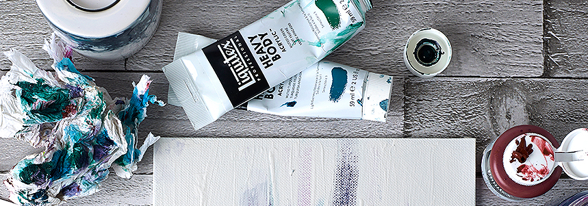 Liquitex Professional Acrylic Paints and Mediums - Painting Techniques