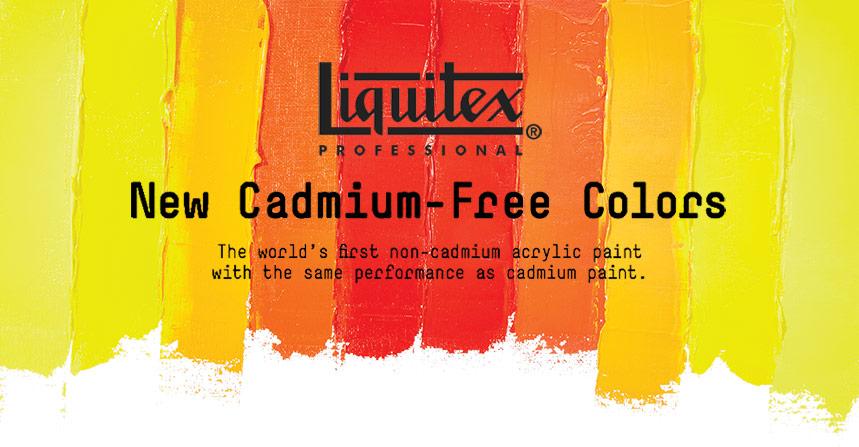 Liquitex Professional Acrylic Cadmium-Free Colours