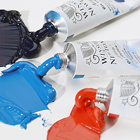 Oil Paint is known for its rich pigmentation - 3 tubes Winsor & Newton Artists' Oils