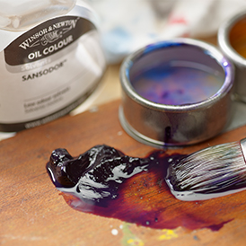 Oil Painting Hints & Tips - Oil Solvents