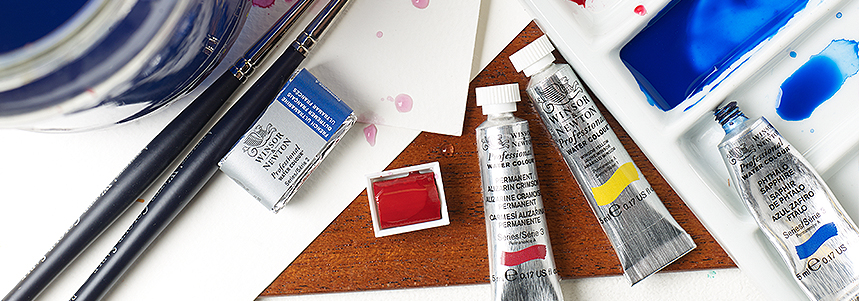 Discover the Winsor & Newton Watercolour Range