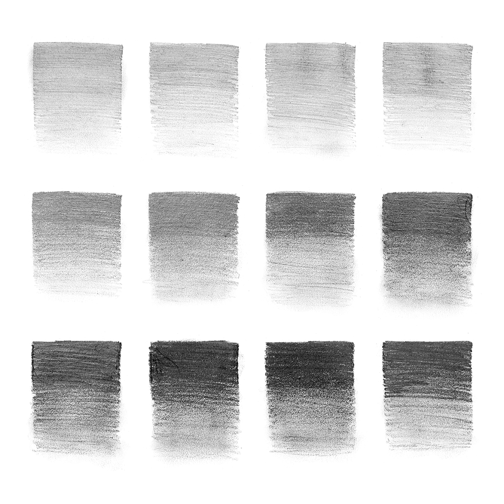Winsor & Newton Studio Collection Graphite Pencil Swatches