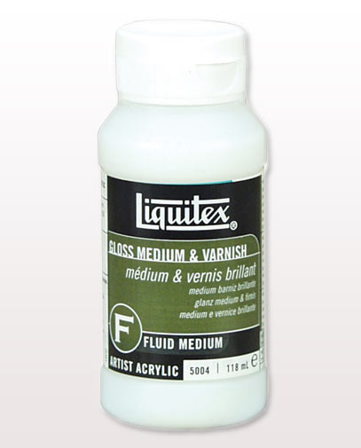 how to use liquitex clear gesso