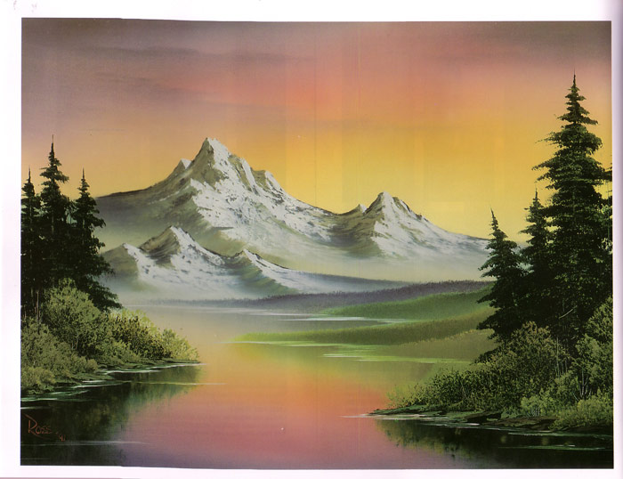 Bob Ross New Joy Of Painting Ken Bromley Art Supplies