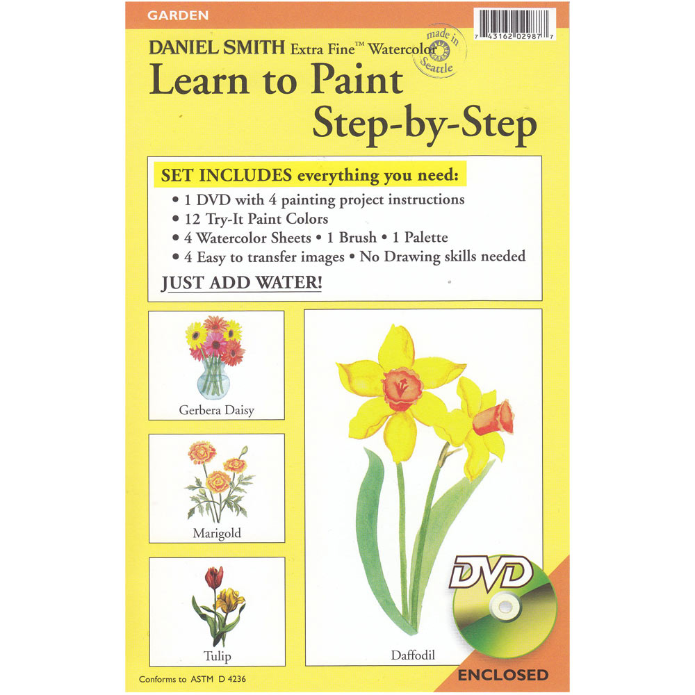 daniel smith learn to paint step by step kits ken