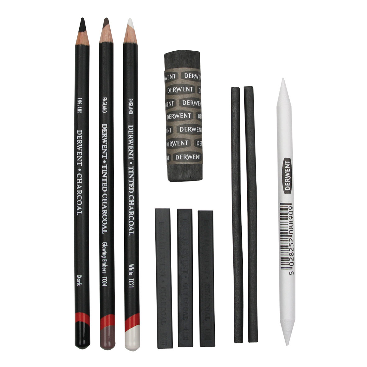 derwent charcoal set ken bromley art supplies