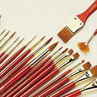 Winsor /& Newton Sceptre Gold II for Water Colour Acrylic /& Oil Colour Brushes,