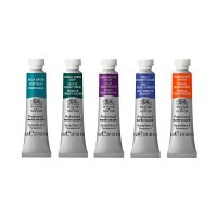 Winsor & Newton Jewel-Like Colours 5 x 5ml Tube Set
