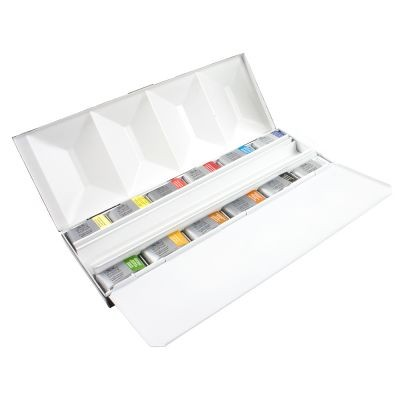 Winsor & Newton Professional Watercolour 12 Whole Pan Box