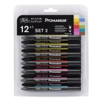 Winsor & Newton - Pro Marker Pack of 12 - Set 2