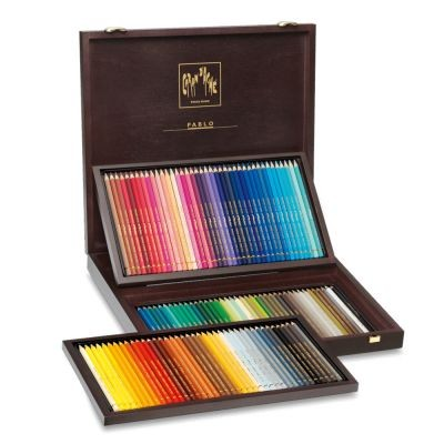 Pablo Wooden Box Set 120 Assorted Colours