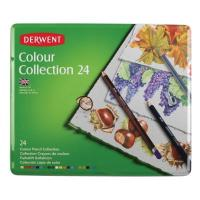 Derwent Colour Collection Tin of 24