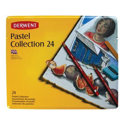 Derwent Pastel Collection Tin of 24