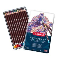 Derwent Coloursoft Pencil Tins