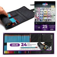 Zieler Watercolour Pencil Wrap Bundle