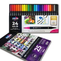 Zieler Duo Tip Pen and Pad Bundle