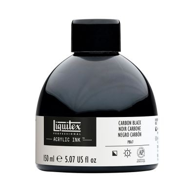 Liquitex Professional Acrylic Ink 150ml Carbon Black