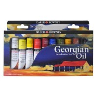 Georgian Oil Colour Introduction Set 10 x 22ml