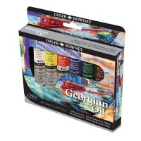 Georgian Oil Colour Starter Set 6 x 22ml