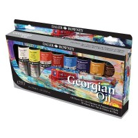 Georgian Oil Colour Classic Set 8 x 75ml