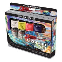 Georgian Oil Colour Mixing Set 5 x 75ml Tubes