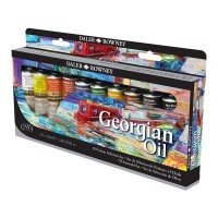 Georgian Oil Colour Selection Set 10 x 38ml