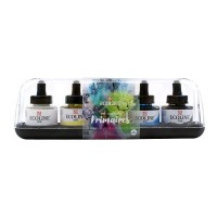 Ecoline Liquid Watercolour Ink Primaries Set 5 x 30ml