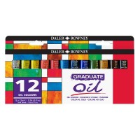 Graduate Oil Paint Set 12 x 22ml