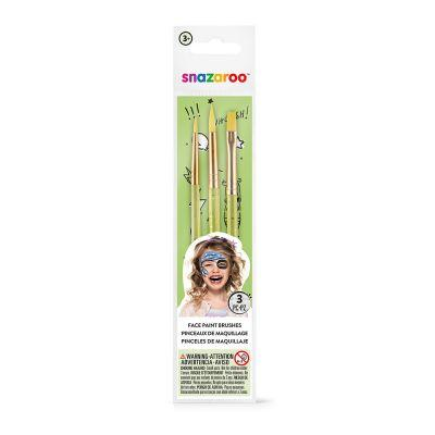 Snazaroo Green Starter Brush Set
