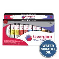 Georgian Water Mixable Oil Introduction Set 10 x 20ml