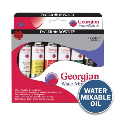 Georgian Water Mixable Oil Starter Set 6 x 20ml