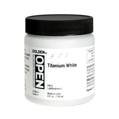 Golden Open Acrylics Titanium White 118ml 150ml 237ml