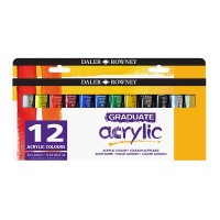 Graduate Acrylic Paint Set 12 x 22ml