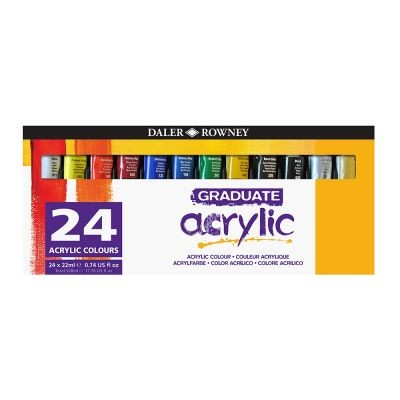 Graduate Acrylic Paint Set 24 x 22ml